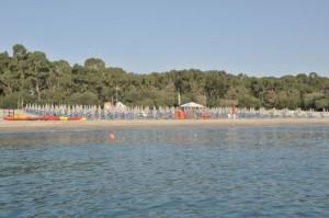Nausicaa Village spiaggia