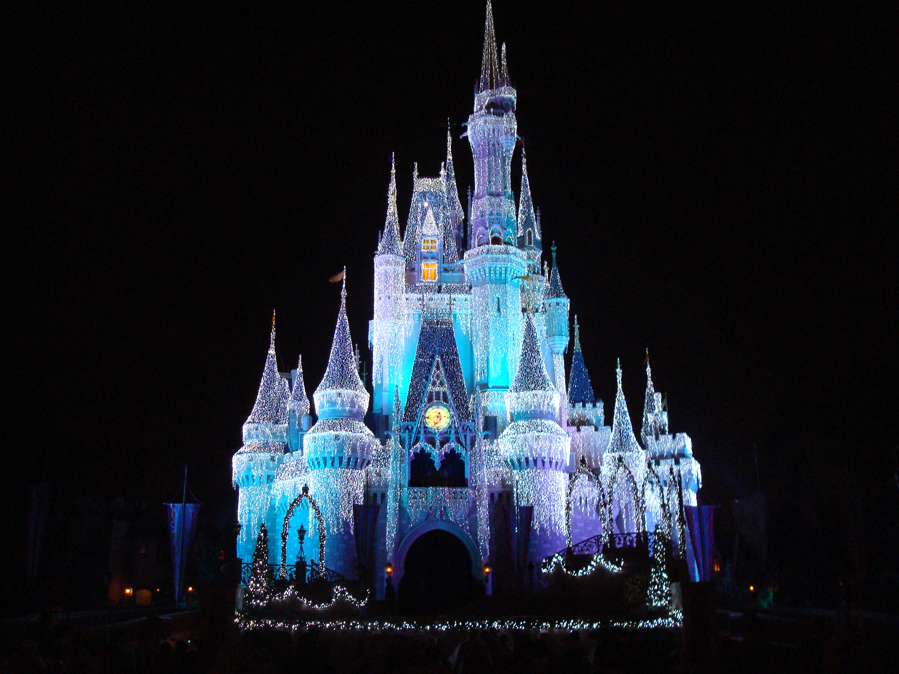 Disney Orlando castle at night Da Miami alle isole Keys attraversando la Florida