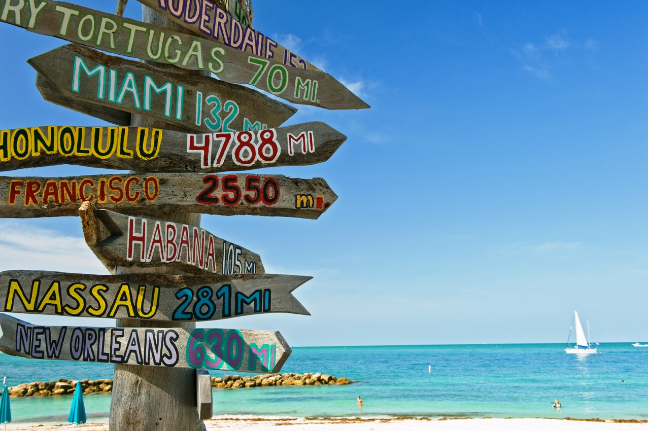 Key WestMiamiCuba Da Miami alle isole Keys attraversando la Florida