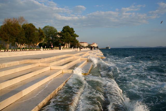 Morske orgulje Sea organ Zadar 1286182374 La voce del mare, Zara Croazia