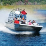fan boat airboat everglades 150x150 Fly and Drive Florida + Miami