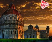 Sulla Torre di Pisa anche di notte