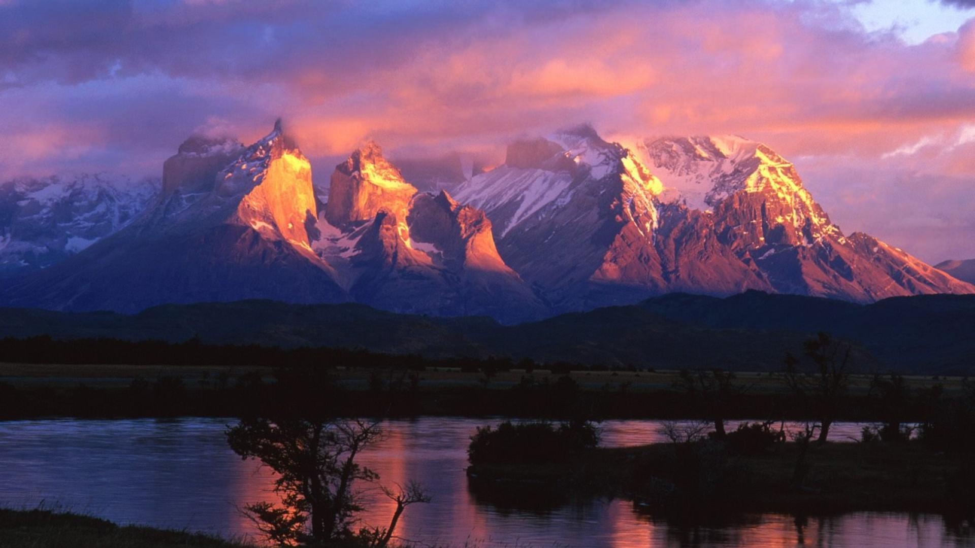 patagonia torres del paine chile america wallpaper HD Argentina: una terra di emozioni