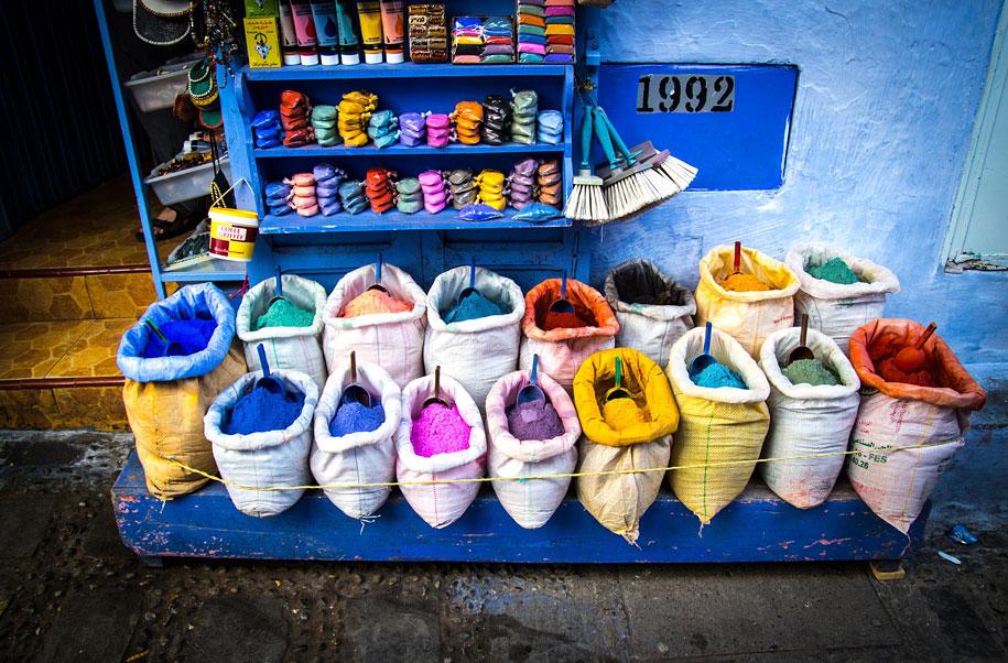 Case Blu Marocco : Chefchaouen la perla blu del marocco